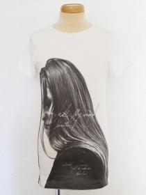 "FAGASSENT ""TP her"" Printed T shirt with Victoria"