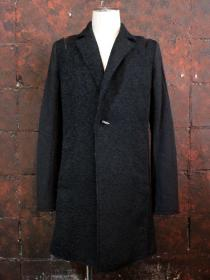 "FAGASSENT(ファガッセン) ""MOHAIR JACQUARD CHESTERFIELD COAT"""