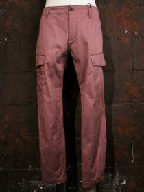 VADEL SD chino ankle tight 6-pockets / burgundy