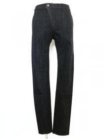 [rewords/rewordsdesign] EXTENSION DENIM/PIECE DYE TAPERED SKINNY PT / BLK*WHT