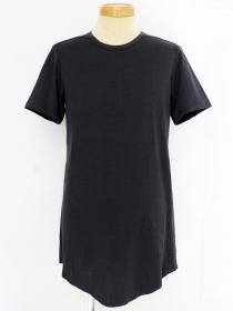 [rewords/rewordsdesign] 160/2 UNTWISTING INTERLOCK/BIO LEAN CUT S/S TEE / GREY