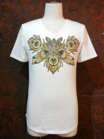 "CRUCE&Co. Graphic Tee ""or'onero"" / WHITE"