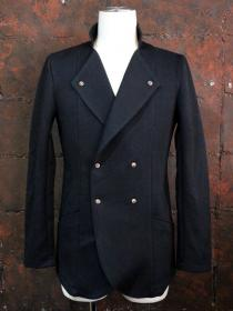 CRUCE&Co. Single Collar Double Jacket / BLACK