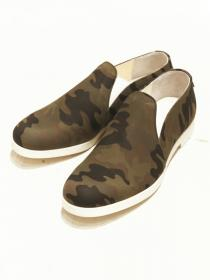 VADEL original camo print slip-on / camo