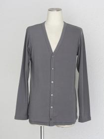 [rewords/rewordsdesign] TUCK HEM LIGHT CARDIGAN / M.GREY