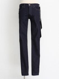 "青激-SEIGEKI- ""INDIGO ROW"" 12oz original stretch denim Harf wash (rinse)"