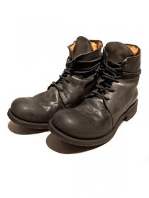 "10sei0otto ""SHERLOCK"" middle lace-up boots / CHARCOAL"
