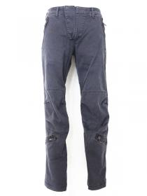 VADEL  stretch german chino trousers AF parachute / charcoal