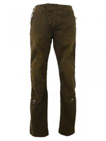 VADEL  stretch german chino trousers AF parachute / khaki