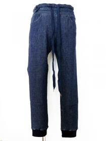 CRUCE&Co. Imposter Denim Sweat Pants / INDIGO