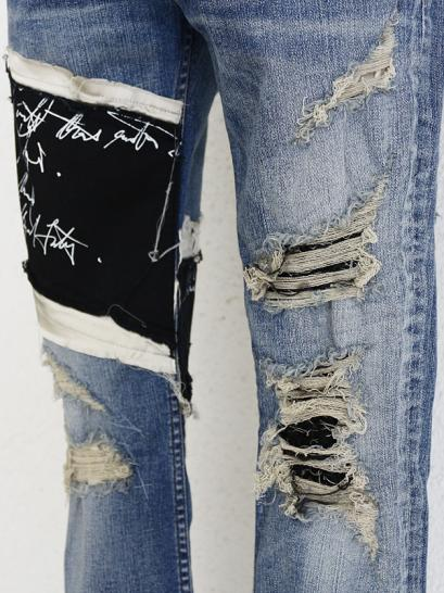 "FAGASSENT ""BUTTLE""   Thigh crawling message sleek with distressed scar crush..."